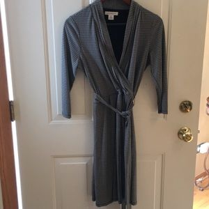 Liz Claiborne size medium black and white dress